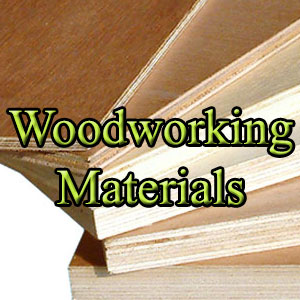 Woodworking material