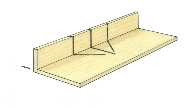 auxilliary miter saw fence and table