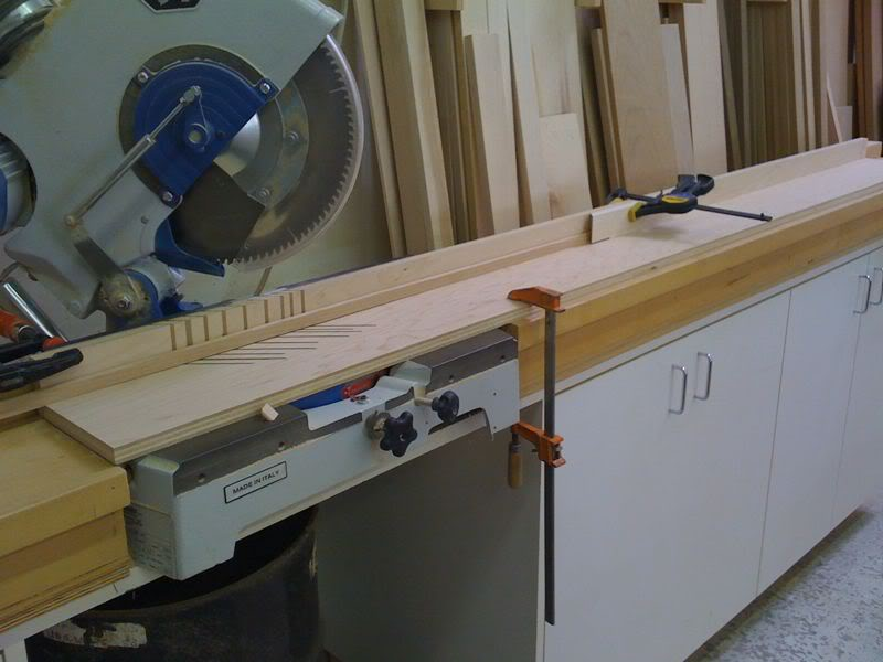 miter saw table extension